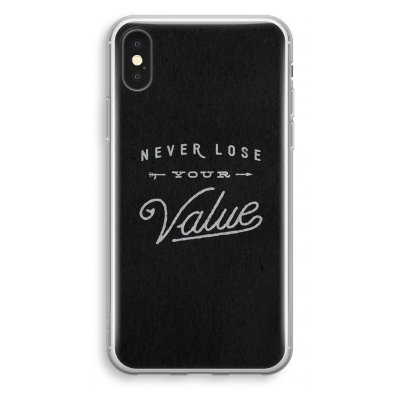 iphone-xs-transparant-hoesje - Never lose your value