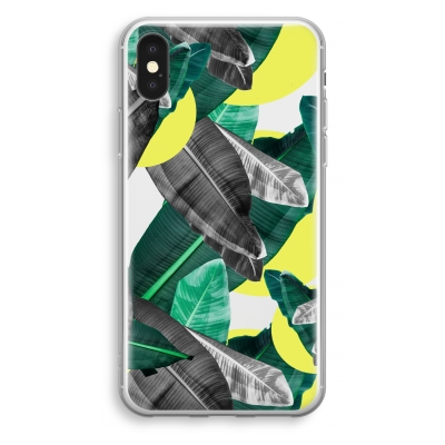 iphone-xs-transparant-hoesje - Fantasie jungle