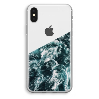 iphone-xs-transparant-case - Ocean Wave