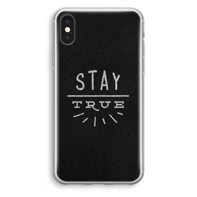 iphone-xs-transparant-hoesje - Stay true