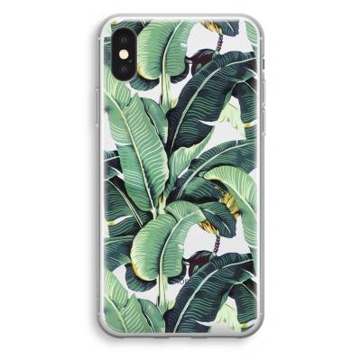 iphone-xs-transparant-case - Banana leaves