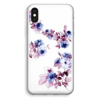 iphone-xs-cover-trasparente - Acquerello Floreale