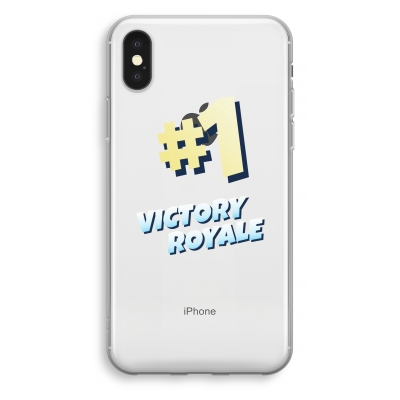 iphone-xs-funda-transparente - Victory Royale