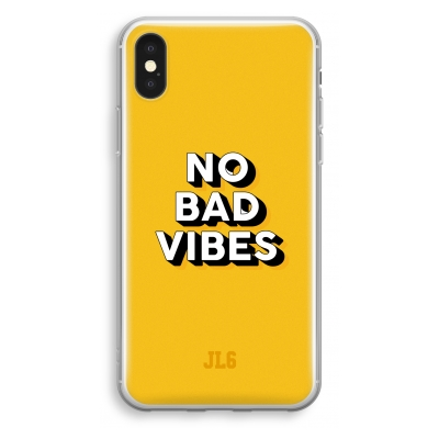 iphone-xs-cover-trasparente - No Bad Vibes