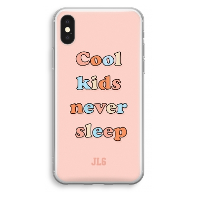 iphone-xs-cover-trasparente - Cool Kids Never Sleep