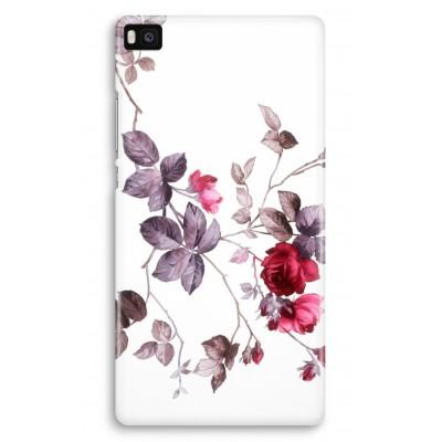 huawei-ascend-p8-volledig-geprint-hoesje - Mooie bloemen