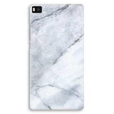 huawei-ascend-p8-volledig-geprint-hoesje - Witte marmer