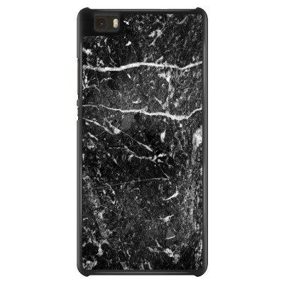 huawei-ascend-p8-lite-case - Black marble
