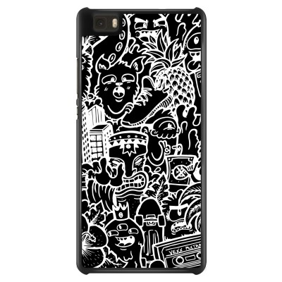 huawei-ascend-p8-lite-case - Vexx Black Mixtape