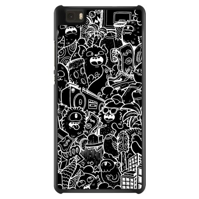 huawei-ascend-p8-lite-case - Vexx Black City