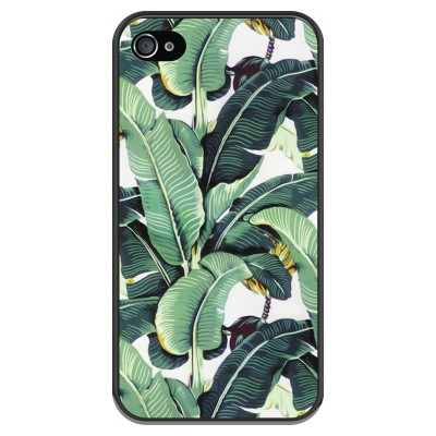 iphone-4-4s-soft-case - Banana leaves