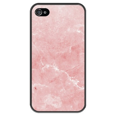 iphone-4-4s-soft-case - Pink Marble