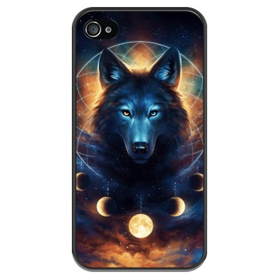 iphone-4-4s-soft-case - Wolf Dreamcatcher