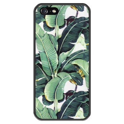 coque-iphone-5-5s-silicone - Feuilles de banana