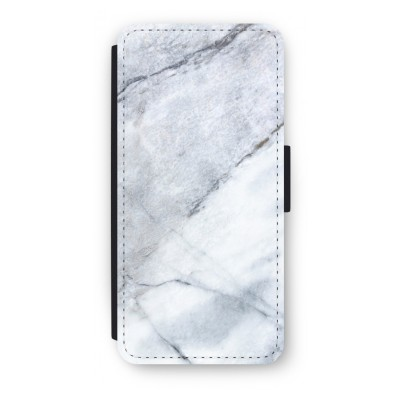 iphone-5-5s-se-flip-cover - Witte marmer