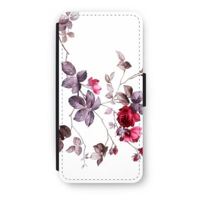 iphone-5-5s-se-flip-cover - Mooie bloemen