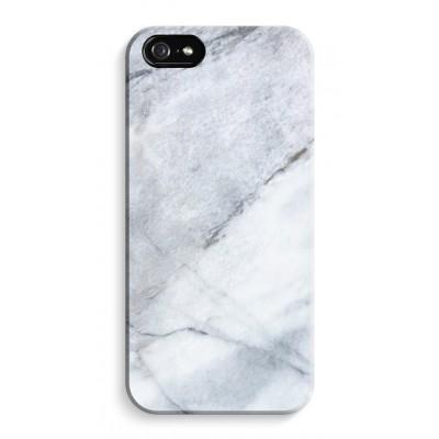 iphone-5-5s-se-volledig-geprint - Witte marmer
