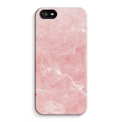 iphone-5-5s-se-volledig-geprint - Roze marmer