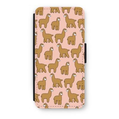 iphone-5-5s-se-flip-case - Alpacas
