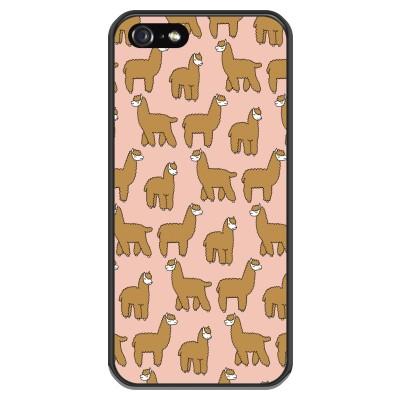 iphone-5-5s-silicone-case - Alpacas
