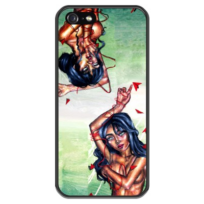 iphone-5-5s-soft-cover - Femme