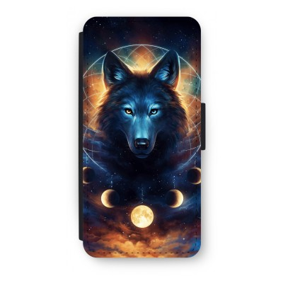 iphone-5-5s-se-flip-cover - Wolf Dreamcatcher