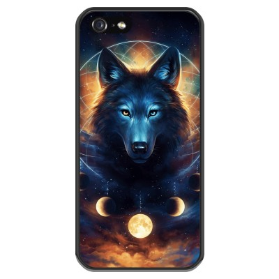 coque-iphone-5-5s-silicone - Wolf Dreamcatcher