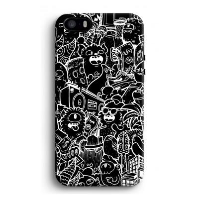 iphone-5-5s-se-tough-case - Vexx Black City