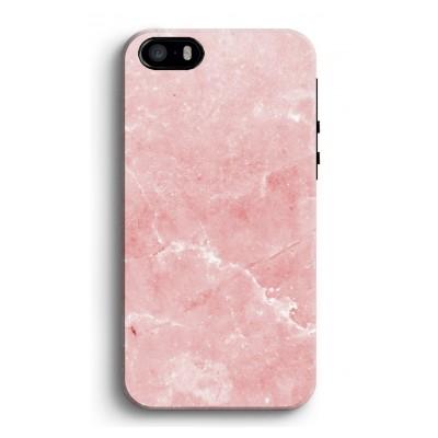 iphone-5-5s-se-tough-case - Roze marmer