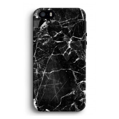 iphone-5-5s-se-tough-case - Zwart Marmer 2