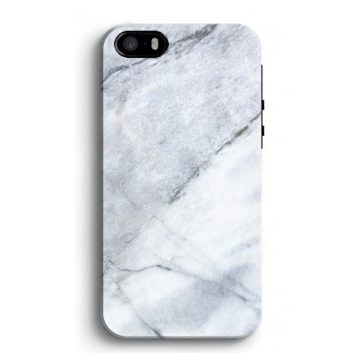 iphone-5-5s-se-tough-case - Witte marmer