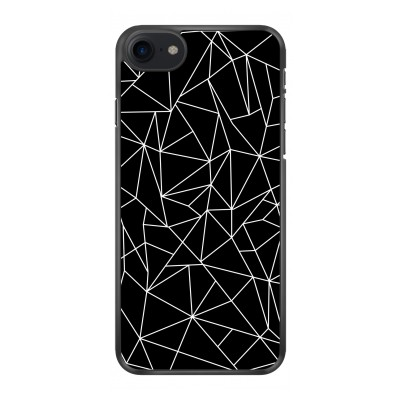 iphone-7-matte-case - Geometric lines white