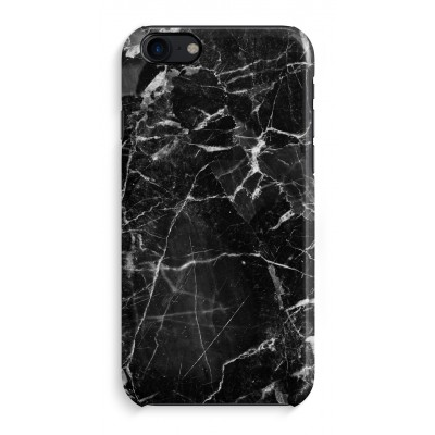 iphone-7-funda-totalmente-impresa - Mármol negro 2
