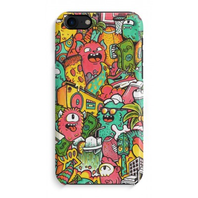 iphone-7-hoesje-rondom-geprint - Vexx City