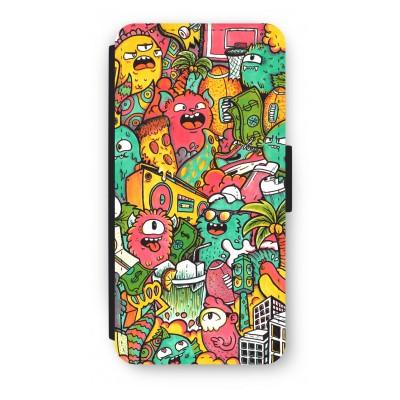 iphone-7-flip-hoesje - Vexx City