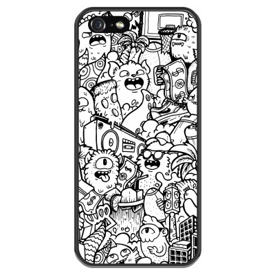 coque-iphone-5-5s-silicone - Vexx City #2