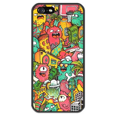 coque-iphone-5-5s-silicone - Vexx City