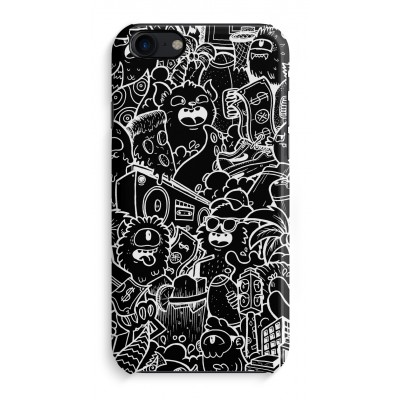 iphone-7-hoesje-rondom-geprint - Vexx Black City