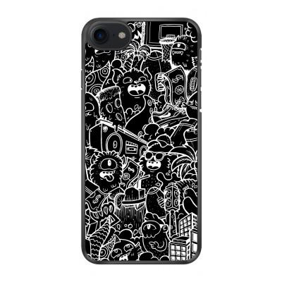 iphone-7-matte-case - Vexx Black City