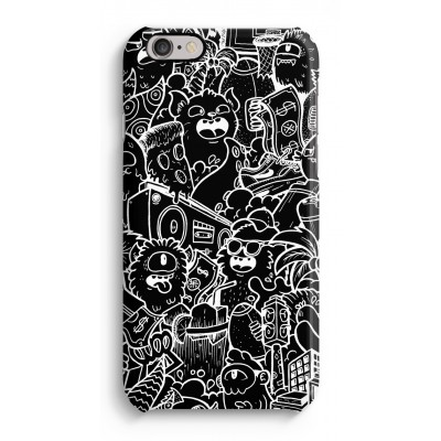 coque-iphone-6-6s-impression-sur-la-tranche - Vexx Black City