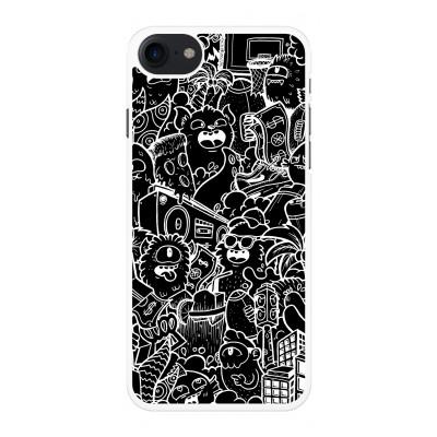 iphone-7-telefoonhoesje - Vexx Black City