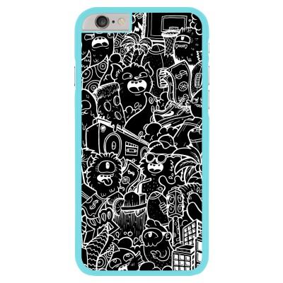 iphone-6-6s-matte-case - Vexx Black City