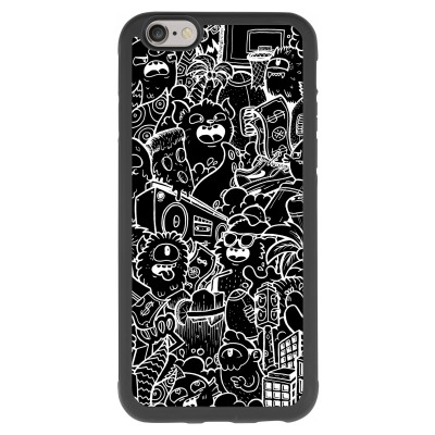 coque-iphone-6-6s-silicone - Vexx Black City
