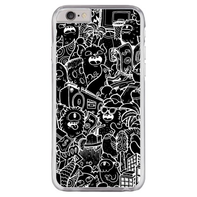 iphone-6-6s-hard-hoesje - Vexx Black City