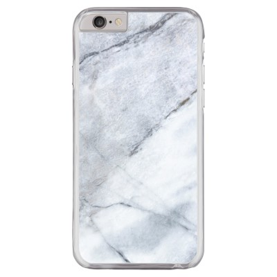 iphone-6-6s-hard-hoesje - Witte marmer