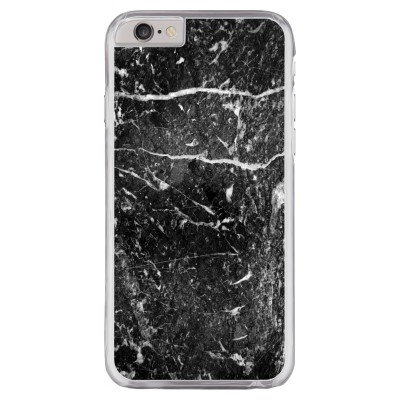 iphone-6-6s-hard-hoesje - Zwart marmer