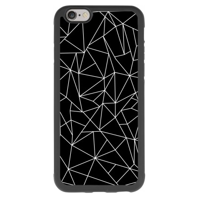 iphone-6-6s-soft-case - Geometric lines white