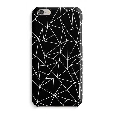 coque-iphone-6-6s-impression-sur-la-tranche - Lignes géométriques blanches