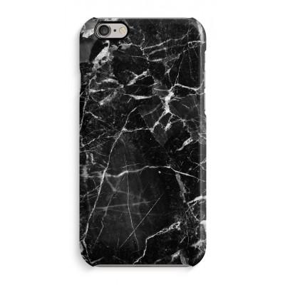 coque-iphone-6-6s-impression-sur-la-tranche - Marbre Noir 2