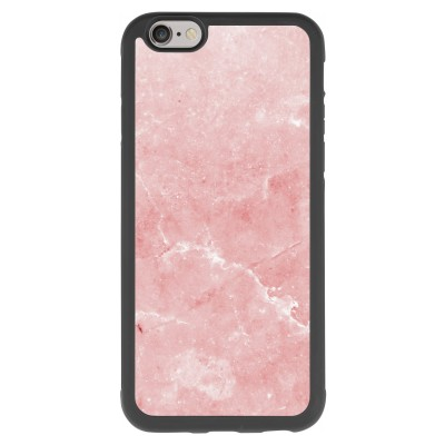 coque-iphone-6-6s-silicone - Marbre Rose